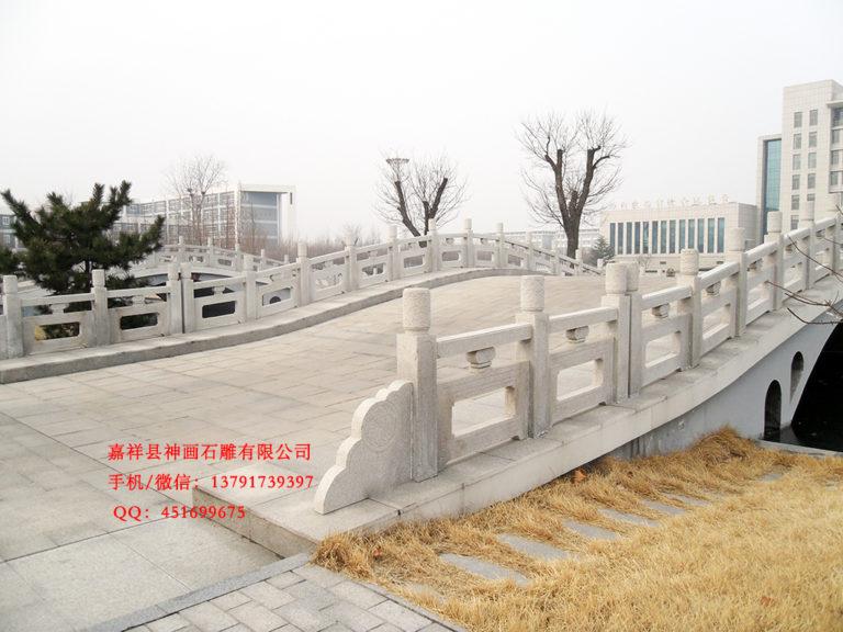 桥梁石栏杆雕刻的起源造型简介